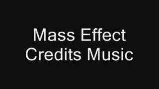Mass Effect Credits Music (with lyrics)