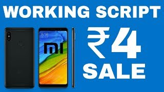 Redmi Note 5 Pro & Redmi Y2 at ₹4 | Working Auto-Buy Extension | Mi Flash Sale 2018