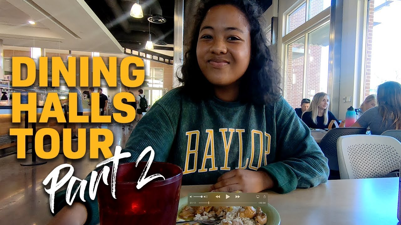 Inside Baylor Dining Halls East Village Brooks Youtube