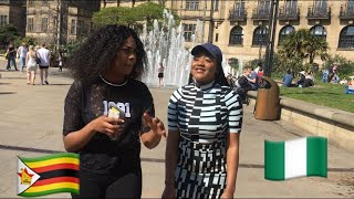Asking the public Which country has the most dumbest people ‼️ | Underrated girls