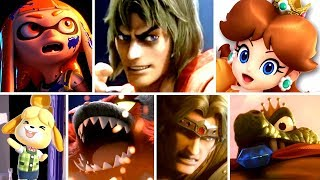 Super Smash Bros Ultimate ALL NEW Character Trailers