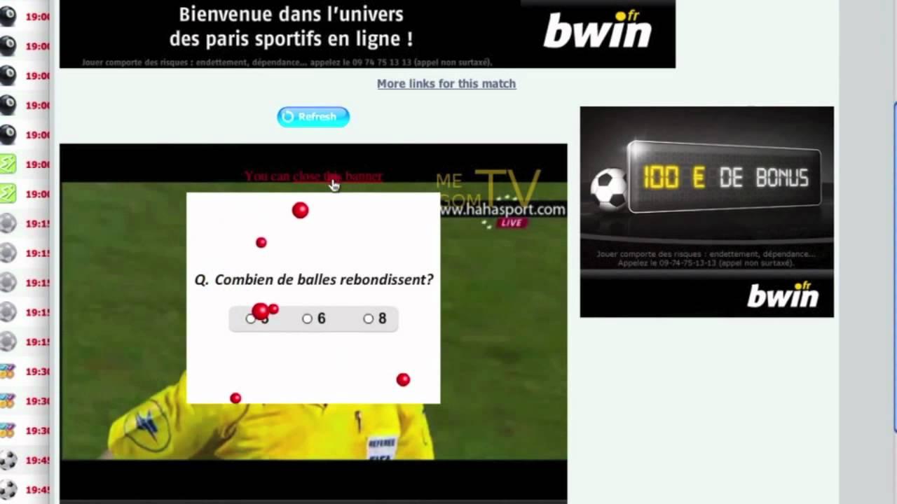 regarder un match de foot gratuitement sur internet youtube. Black Bedroom Furniture Sets. Home Design Ideas