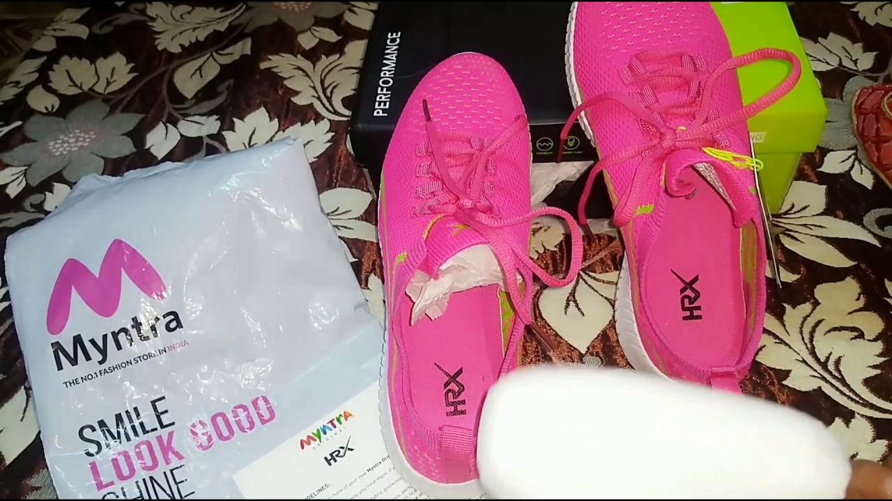 Hrx fuschia running shoe review #Shoes