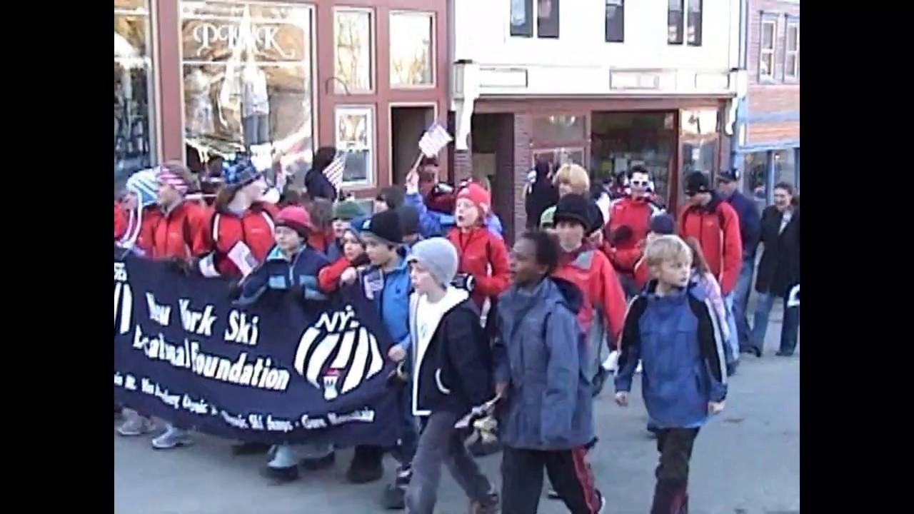 OLC - Saranac Lake Olympians Parade -  2010