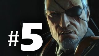 Batman Arkham Origins Gameplay Walkthrough Part 5 - Deathstroke Boss