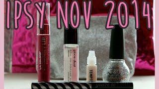 IPSY -- Nov 2014!! [Glitter] Thumbnail