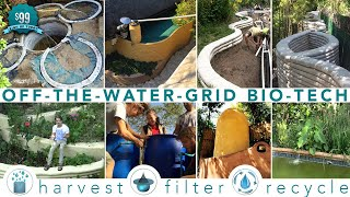 Learn Off-Grid DIY Water Eco Tech