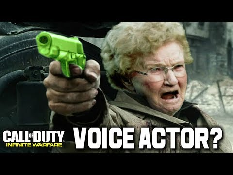 """Infinite Warfare: DLC """"Grandma Knows Best"""" NEW Announcer Pack!!! VOICE OVER PACK AUDIO (COD IW)"""