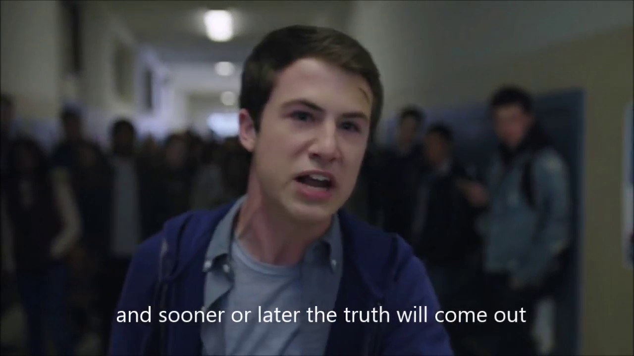 Clay S Speech To The Exchange Students 13 Reasons Why English