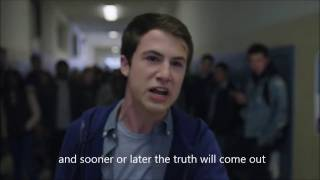 Video Clay's speech to the exchange students -13 reasons why - English subtitles download MP3, 3GP, MP4, WEBM, AVI, FLV Oktober 2018