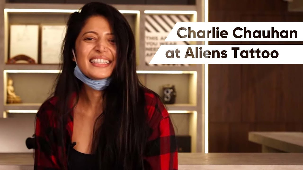 Getting a tattoo from Aliens is an Experience - Watch Charlie Chauhan's Tattoo Story