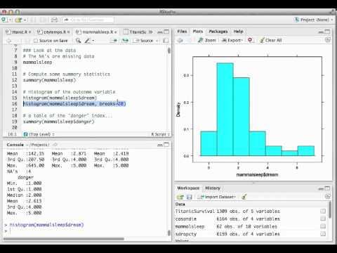 Exploratory data analysis 1