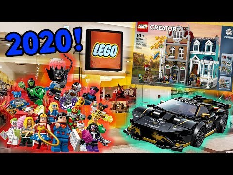 Buying The Bookshop From The LEGO Store + NEW SETS