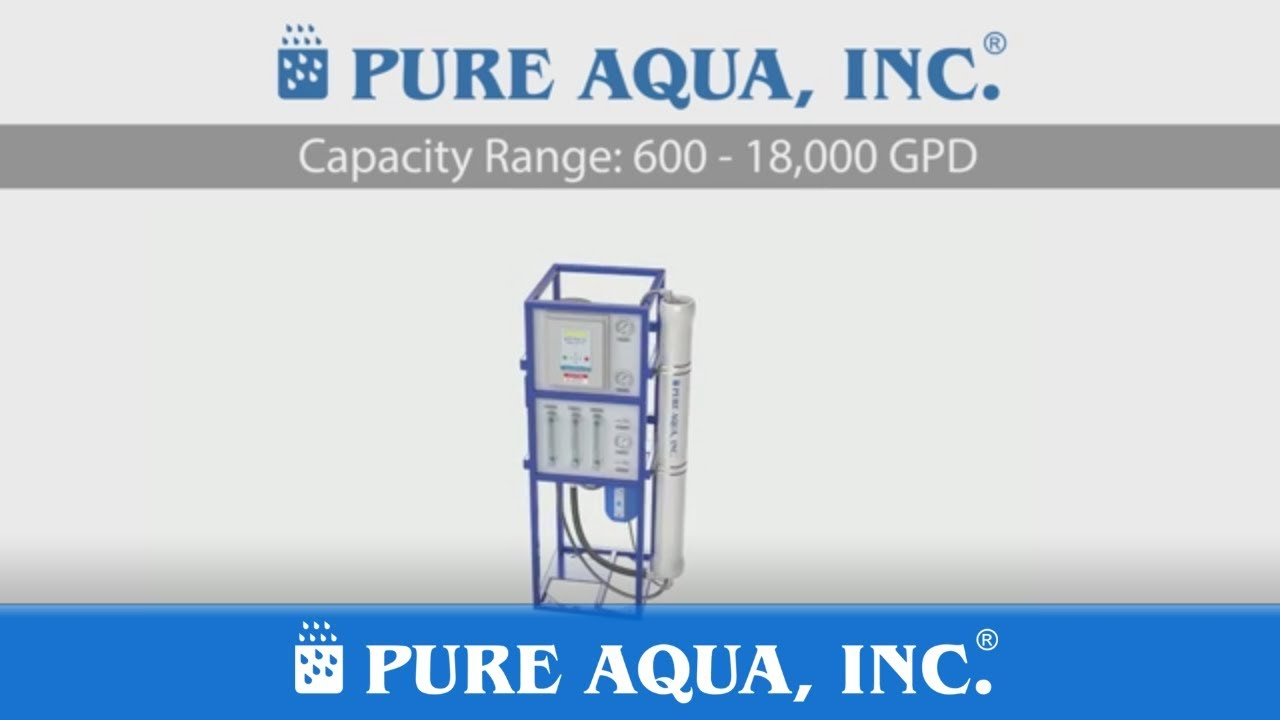 Commercial Reverse Osmosis RO Systems RO-200 on