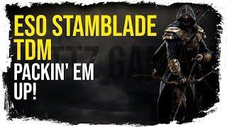 ESO Stamina Nightblade Deathmatch Battlegrounds | Packin' Em Up