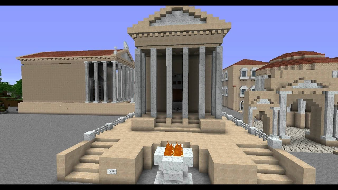 What Did the Roman Temple Saturn Look Like