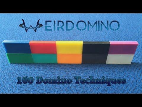 WeirDomino - 100 Domino Tricks / Techniques
