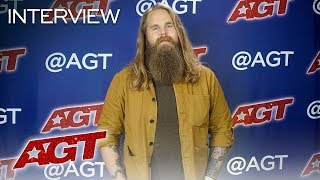 Interview: Chris Kläfford Talks About Brad Paisley's Positive Feedback! - America's Got Talent 2019