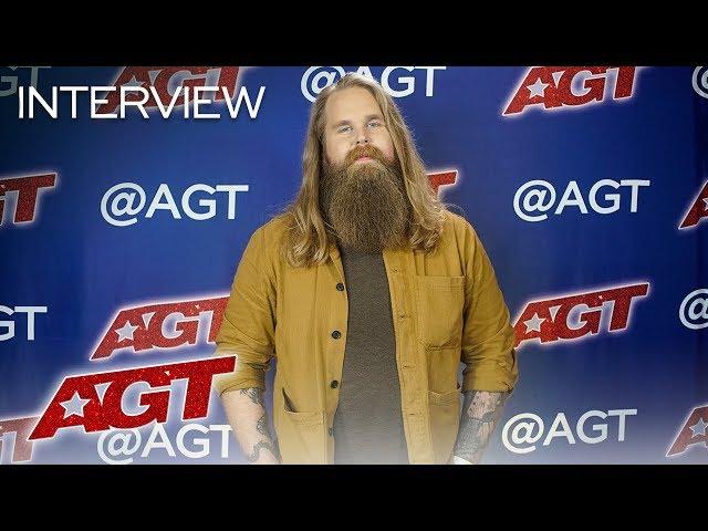Interview: Chris Kläfford Talks About Brad Paisley's Positive Feedback! - America's Got Talent 2019