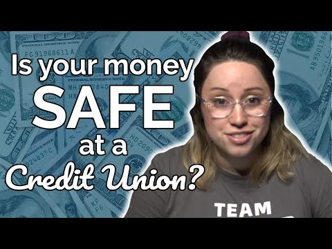 Is Your Money SAFE At A Credit Union? NCUA Share Insurance Explained.