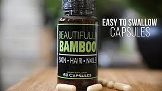 Beautiful Bamboo Hair Skin & Nails Vitamins