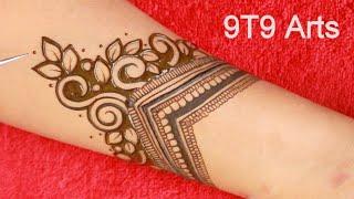 RAKHI💖2021 Special Mehndi Designs by 9T9 Arts  Latest Full Hand Wedding Mehendi  Indo Arabic Mehandi