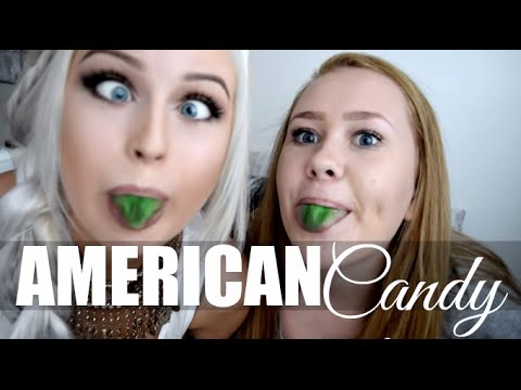 Swedes try American Candy!