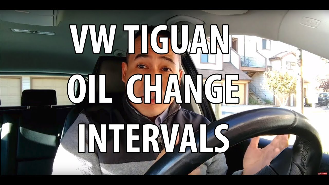 vw tiguan oil change intervals