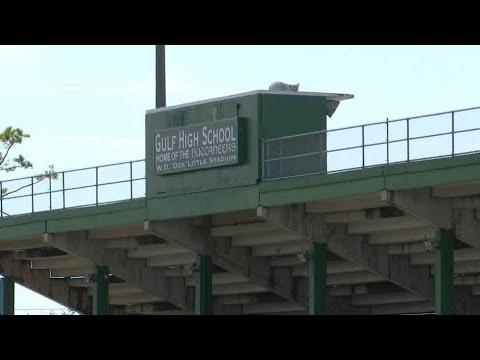 'Des' Little Stadium Demolition - Gulf High School