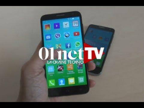 Test de Alcatel OneTouch Idol 2 S et Mini 2 S : joli design à bas prix