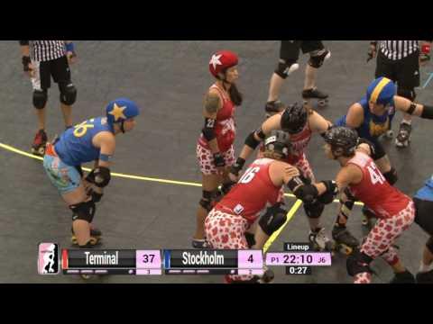 Game 12: Stockholm Roller Derby v Terminal City Rollergirls
