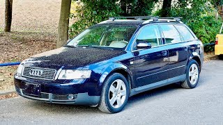 2002 Audi A4 Avant B6 (Canada Import) Japan Auction Purchase Review