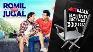 Romil And Jugal | Behind The Scenes | Download ALTBalaji Now | #BingeKaro