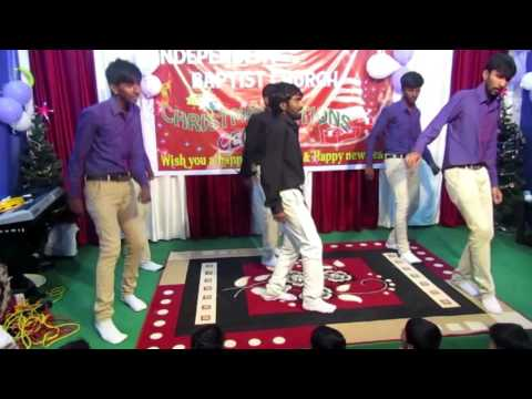New Latest Telugu Christmas Dance
