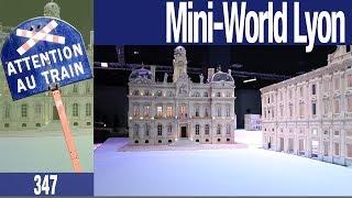 Mini-World Lyon - Lancement de la construction de Mini-Lyon