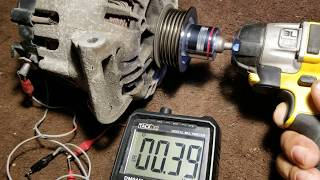Easy way to test Alternator at home
