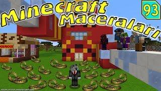 Örümcek Adam Çetesi Kurtadamı Yakaladı Minecraft Maceralari 93