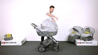 Детская коляска Riko Vario (модель 2017 г.)