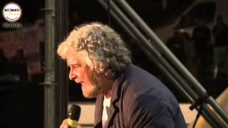 Beppe Grillo #Italia5Stelle al Circo Massimo giorno 2