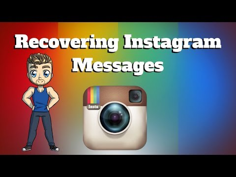 Recover Instagram Messages - YouTube