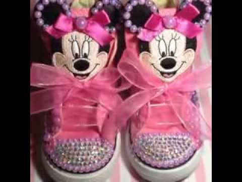 836a36f158df Glamorous Minnie Mouse Shoes - YouTube