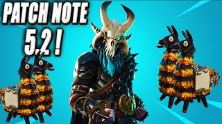 Patch 5.2 rating: Birthday Lamas, Challenges - Mythical Heroes! Fortnite Save the New World!
