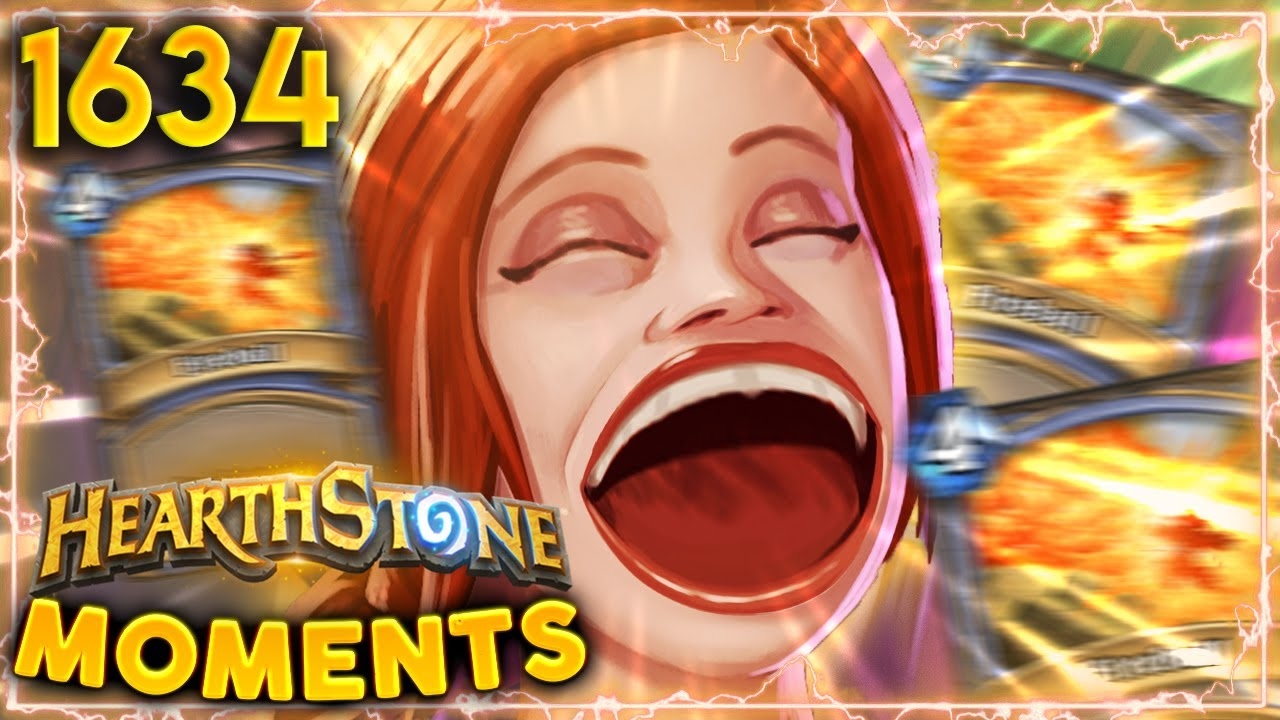WHO DOESN'T Love Random Spells?! | Hearthstone Daily Moments Ep.1634 thumbnail