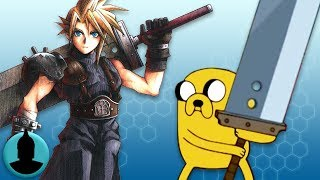 Adventure time references to regular show, final fantasy, movies + more (tooned up s4 e46)