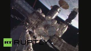 Выход членов экипажа МКС в открытый космос