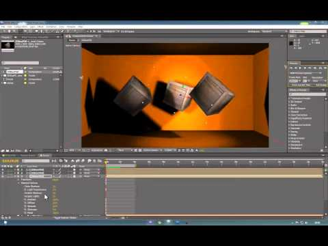 Importing Maya Objects In to AfterEffects - Part 2