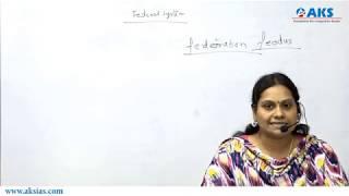 Federal System|Polity|Lakshmi Prasanna|Telugu|AKS