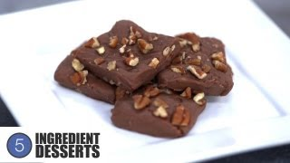 Easy Chocolate Fudge | 5 Ingredient Desserts