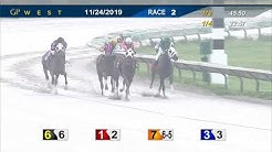 Gulfstream Park West November 24, 2019 Race 2