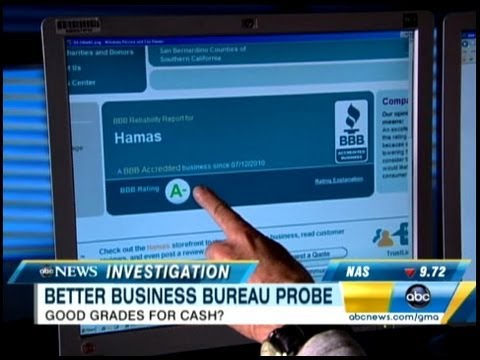 Better Business Bureau 20/20 Investigation
